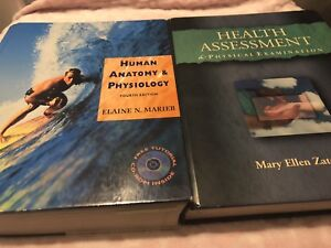 Health and Anatomy books for sale