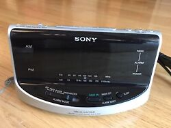 Sony ICF-C492 Large Display AM/FM Clock Radio