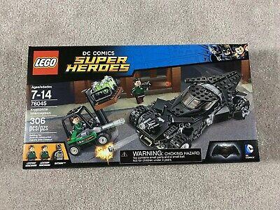 Lego Super Heroes Batman - Kryptonite Interception 76045 set -New Factory Sealed