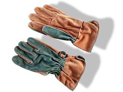 Hermes [GL13] Home Vintage Unisex Veau GANTS DE JARDINAGE - GARDENING Gloves NEW