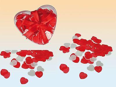 Love Heart Bath Confetti Valentines Romantic Gift Rose Scented Bubble Wedding