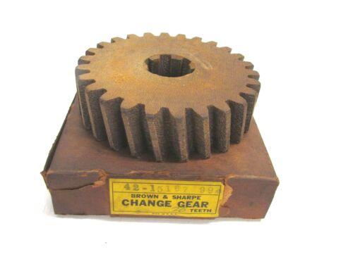 BROWN & SHARPE INDUSTRIAL FIBER CHANGE GEAR, 26 TEETH, 42-15167 99