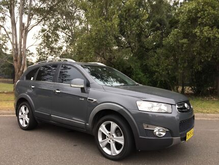 2011 Holden Capitva CGII Wagon LX 7seater Diesel Turbo 4x4  Grey