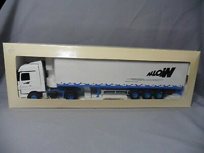 DV8726 ELIGOR 1/43 MERCEDES BENZ ACTROS TRANSPORTS ALLOIN 113204 HORS COMMERCE