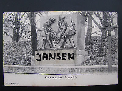 AK Kaempegraven Fredericia 1849 Danmark