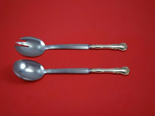 French Provincial by Towle Sterling Silver Salad Serving Set Modern Custom Made