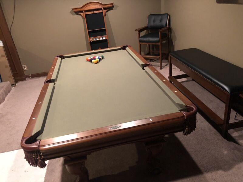 Brunswick Pool Table Set