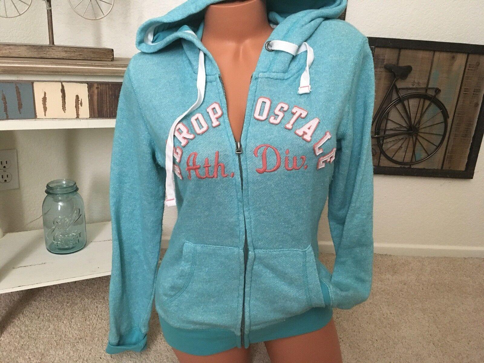 NWT AEROPOSTALE Aero Womens NY Full Zip Zipper Sweatshirt Hoodie XS S M L XL XXL