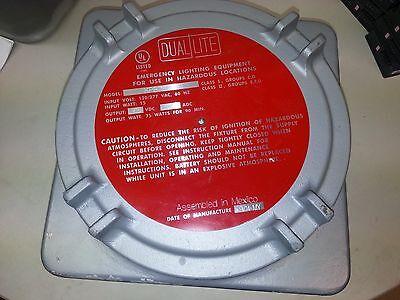Dual Lite Xpb-75p Emergency Lighting Power Unitnew Never Used