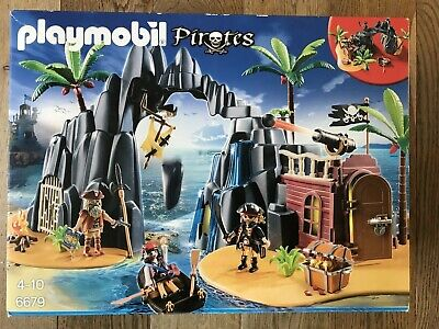 Playmobil 6679 Pirate Treasure Island with Lockable Jail Cell - complete, boxed