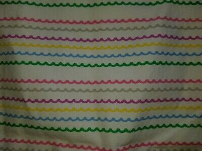 "Land of Nod ""Colorful Waves"" Pillowcase"