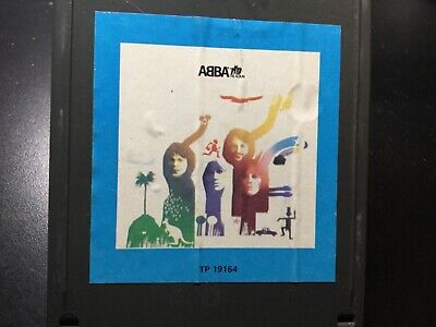 "ABBA ""The Album"" 8 track tested, great album"
