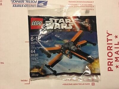Lego Star Wars 30278 Poe's X-wing fighter poly bag The Force Awakens - Brand