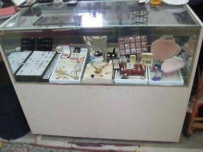 Atl Ga Used Jewelry Case 4 Long 4 High Display Equipment Showcase Lockable