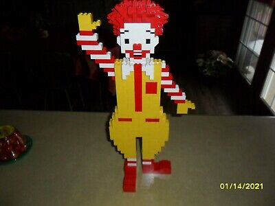 LEGO Collectible Ronald McDonald Store Display Vintage Figure 18 inches tall