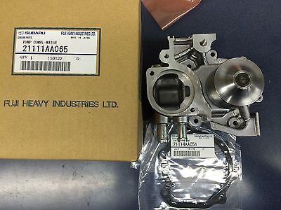 Genuine OEM Subaru HI-FLO Impeller Water Pump Kit Forester XT Impreza WRX EJ255 (Best Water Cooling System)