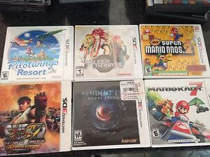 Nintendo 3DS games MINT LIKE NEW & COMPLETE RARE