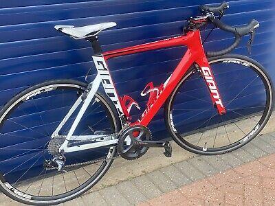 Giant Propel Advanced Carbon Aero Road Bike Red/white