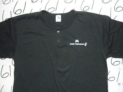 2XL NWOT Kaiser Permanente Button collar T Shirt 2 Button T-shirt