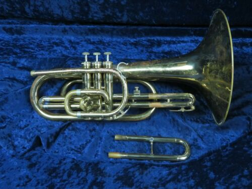 Olds F Mellophone Ser#948279 with Eb Tuning Slide Plays Great with Big Sound