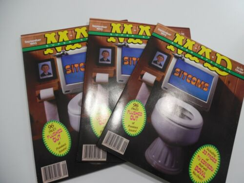Mad Magazine  Super Special #89 September 1993 Sitcoms - LOT OF 3 ISSUES