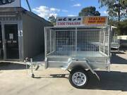 6x4 Box Trailer Galvanised with Cage 3ft Cage XMAS SPECIAL Loganholme Logan Area Preview