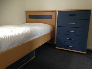 Bedroom suite, chest of drawers and under bed storage drawer Mona Vale Pittwater Area Preview