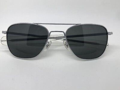celebrities Randolph engineering matte chrome vs silver Aviator Sunglasses (Randolph Aviator 52mm Sunglasses)