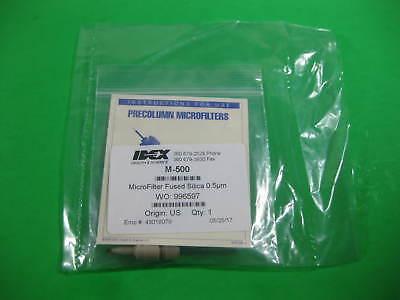 Idex Microfilter Fused Silica 0.5m Precolumn -- M-500 -- New