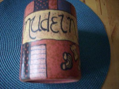 KMK Kupfermühle Keramik Nudel Dose Sesam