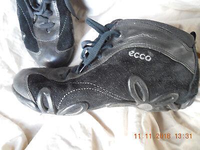 ECCO Damen Sneaker Gr. 38 Farbe schwarz