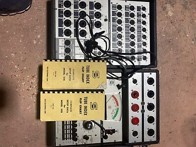 Seco Tube Tester Model 107b Very Good Condition. All Knobs And Switches.