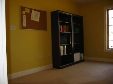Bookcases mahogany-coloured