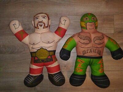 WWE Brawlin Buddies Rey Mysterio & Sheamus Talking Plush Wrestling Buddy WCW