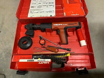 Hilti Dx 351 Power Actuated Gun Tool With Case