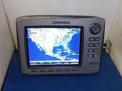 LOWRANCE HDS 8 GEN 1 INSIGHT USA CHARTPLOTTER FISHFINDER COMBO UNIT HDS8