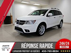 2018 Dodge Journey GT, AWD, CUIR, TOIT, NAV, DVD, 7 PASSAGER!