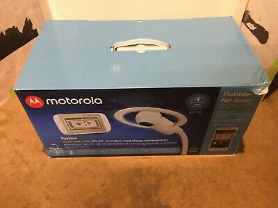 Motorola Halo Over-The-Crib Video Baby Monitor & Soother with HD Wi-Fi...