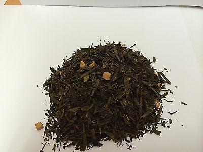 Grüner-tee-creme ( (GP:4,10€/100g ) 50g  Grüner Tee Creme Karamel  Caramel  frisch Grüntee)