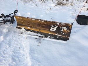 8 foot hydraulic snow blade