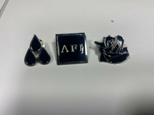 AFI THE BLOOD ALBUM 3 METAL PIN  OFFICIAL MERCHANDISE NEW