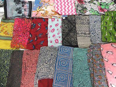 US SELLER-lot of 12 Maxi Scarf Sarong Wrap Big Oversize stole boho lady