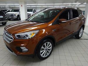 2017 Ford Escape Titanium 4WD CUIR+TOIT+GPS+CAMÉRA