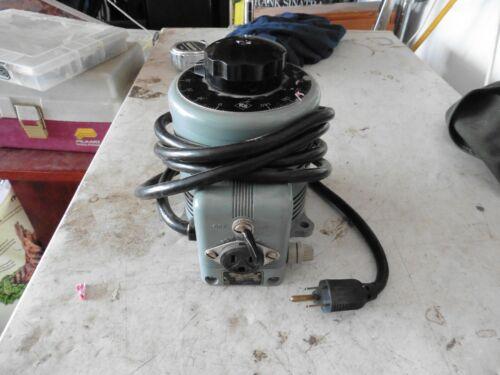 Powerstat Variac 140VAC (0-140VAC) Variable Transformer, 7.5Amp, 1 KVA - 116