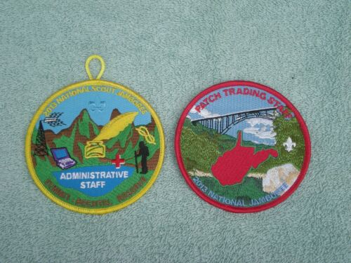 Two (2) Patch Set from the 2013 BSA National Jamboree  NEW