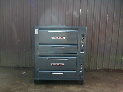 Blodgett Double 901 Natural Deck Gas Single Pizza Oven With New Stones