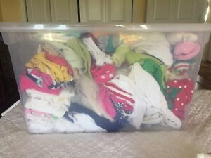 Clean/Gently Used Infant girls clothing and shoes