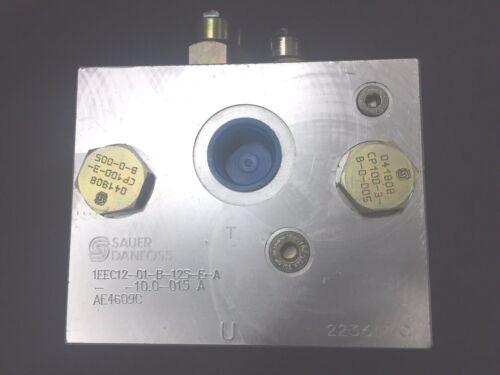 Sauer Danfoss 1EEC12-01-B-12S-E-A-10.0-015A Hydraulic Control Block