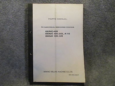 Makino Milling Machine Parts Manual Nc Electrical Discharge Machine Guide 11100