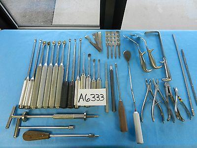 V Mueller Codman Richards Zimmer Surgical Orthopedic Instruments